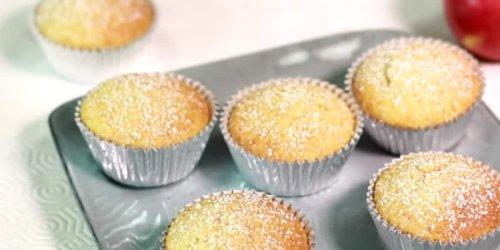 Fluffige Muffins mit Apfelmus schnell gemacht: Wer braucht da noch Apfelkuchen?