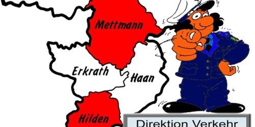 Polizei Mettmann: POL-ME: Verkehrsunfallfluchten aus dem Kreisgebiet - Heiligenhaus / Mettmann / Hilden - 2109129