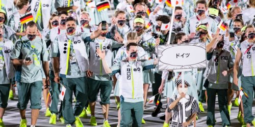 """""""Wer ist dafür verantwortlich?"""": Deutsches Outfit bei Olympia-Eröffnung irritiert sogar Athleten"""