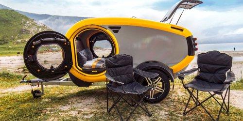 Reise-Trend im Sommer: Campen mit Käffchen: Tchibo vertreibt jetzt Wohnwagen
