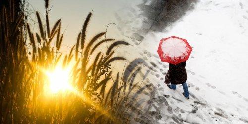Auf Sommer-Intermezzo folgt Schneegestöber bis ins Tiefland