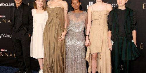 Zwei stachen besonders hervor: Angelina Jolie mit fast allen Kindern auf dem roten Teppich