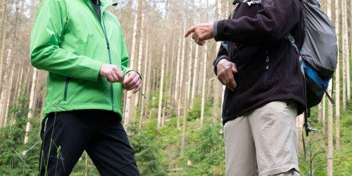 Versperrte Wege: Kretschmer besucht Nationalpark