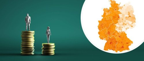 Gehalt vergleichen: Deutschlandkarte zeigt, wie reich Sie in Ihrer Heimat sind