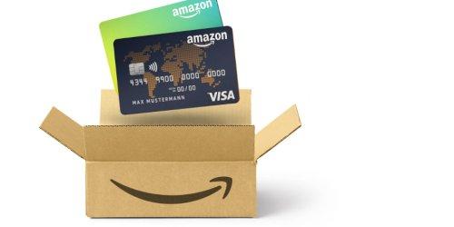 Visa Kreditkarte : Amazon-Kreditkarte mit 40 Euro Gutschrift: Prime-Mitglieder sparen doppelt