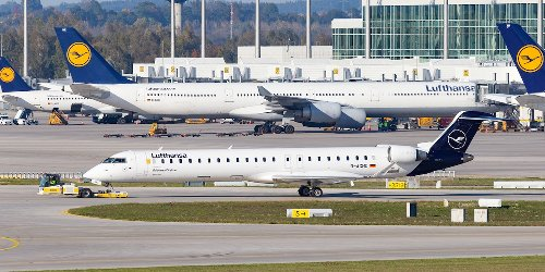 """Kritik an """"ökologischer Absurdität"""": Lufthansa stellt kürzeste deutsche Flugstrecke ein – als Ersatz gibt es einen Bus"""