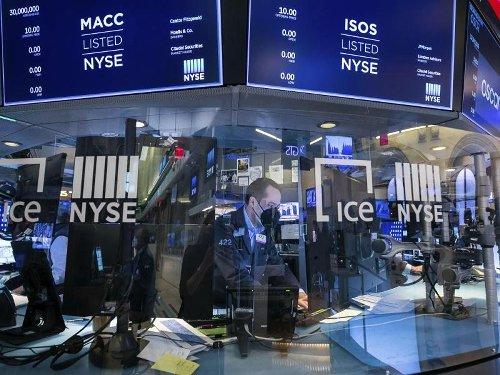 Dow Jones klettert auf Rekordhoch und rauscht dann ab - Nasdaq auf Sechswochentief
