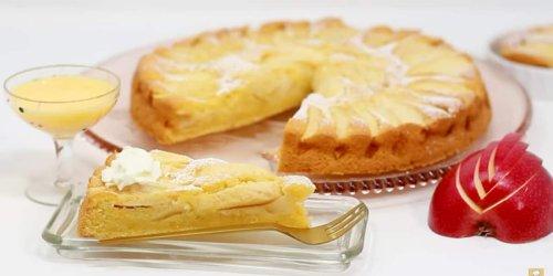 Schnell und lecker: Herbstlicher Apfel-Eierlikör-Kuchen
