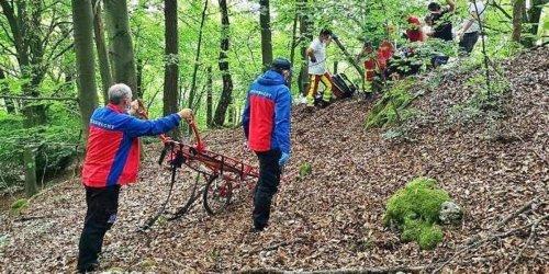Forchheim: Fränkische Schweiz: drei Einsätze für die Bergwachten
