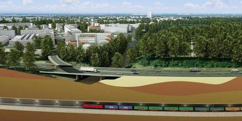 Nürnberg: Nürnberg/Fürth: Bahn plant 7,5 Kilometer langen Tunnel unter Frankenschnellweg