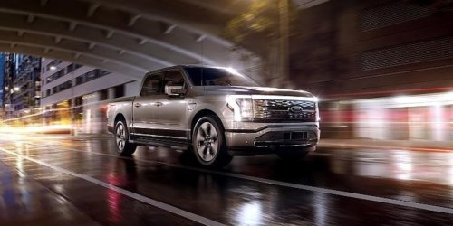 500-km-Akku, 563 PS: Fords grober Elektro-Pick-Up überholt Teslas Cybertruck