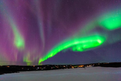 8 Places in the U.S. Where You Can Actually See the Northern Lights