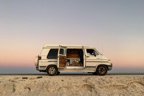 I Built My Own Camper Van for Under $3,000. Here's How I Did It
