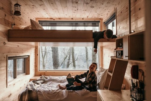 We Took 4 Kids on a Vacation to a Cabin Smaller Than Our Living Room. Here's How It Went