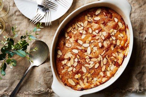 Almond-Peach Cobbler