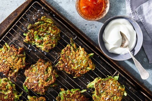 What If Latkes Were Made With...Asparagus?