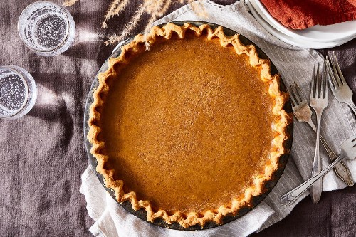 A Truly Stress-Free Pumpkin Pie for 2020