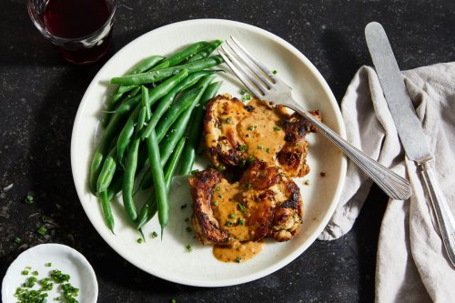 My Famous Instant Pot French Garlic Chicken Is the Creamiest, Dreamiest Dinner