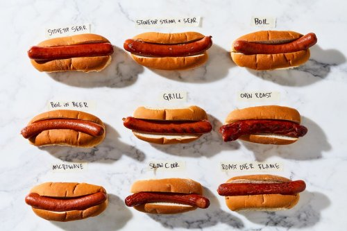 The Absolute Best Way to Cook a Hot Dog, According to So Many Tests