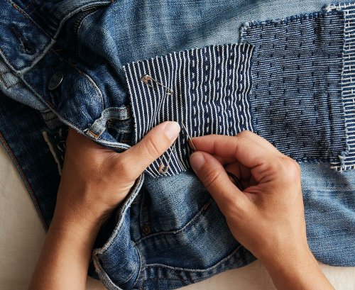 The Art of Visible Mending Proves No Clothing Is Beyond Saving