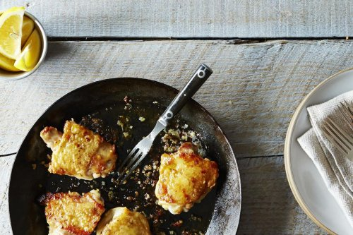 Canal House's Chicken Thighs With Lemon