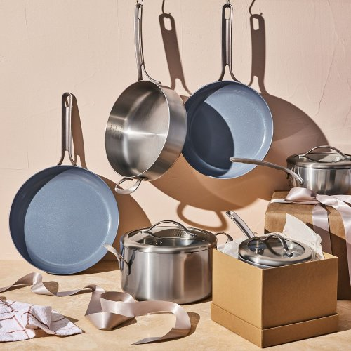 Five Two Essential Cookware Set from Food52, Nonstick & Stainless Steel