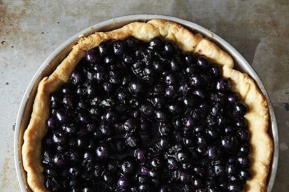 A Genius Blueberry Pie Just in Time for the Summer Season