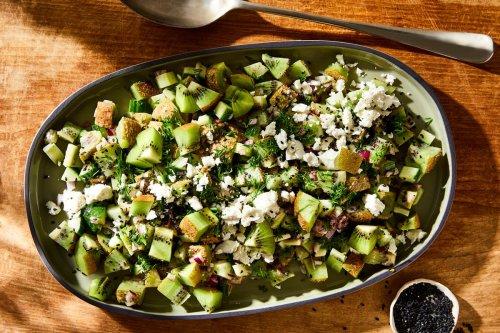 Kiwi & Feta Salad From Nadiya Hussain