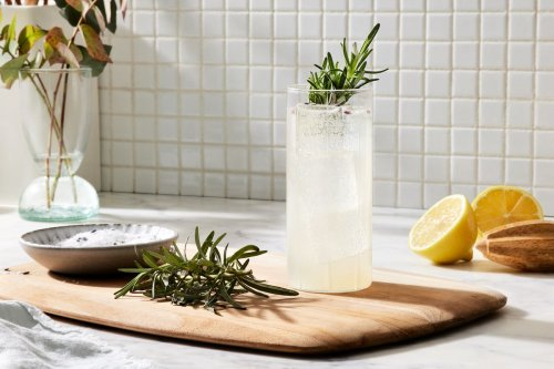 A Spring-Ready Vodka Soda That's Anything but Basic