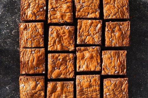 3-Ingredient Buckwheat Brownies