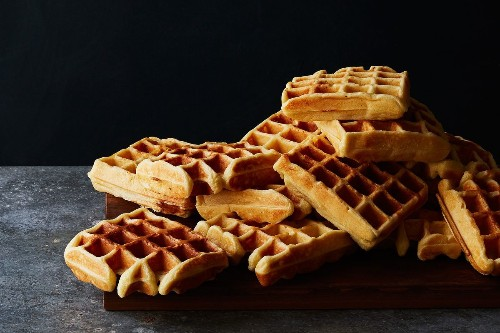Yeast-Raised Waffles (and a Sundae Suggestion)