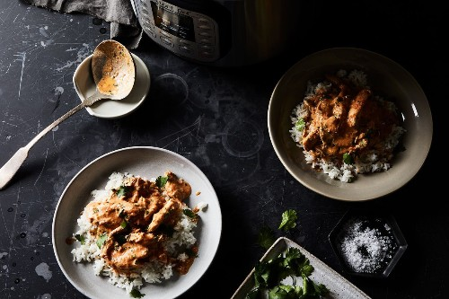 Instant Pot Butter Chicken by Urvashi Pitre