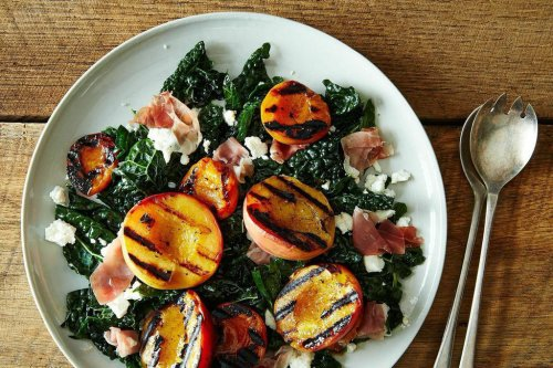 Grilled Peach & Apricot Salad