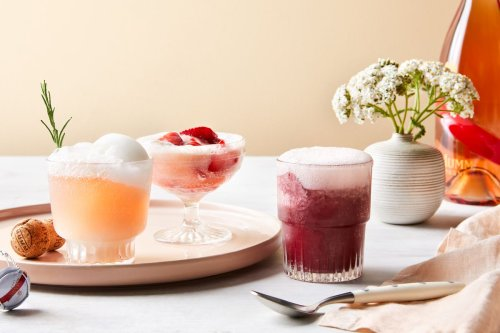 These Champagne Floats Are the Ultimate Grown-Up Summer Treat