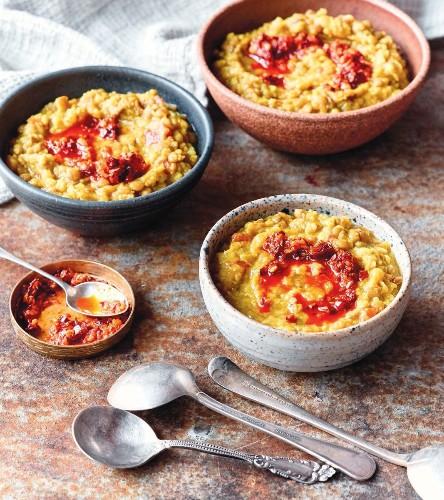 Archana Mundhe's Instant Pot Spicy Lentils