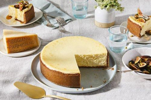 Parmigiano Reggiano Cheesecake? Say No More.