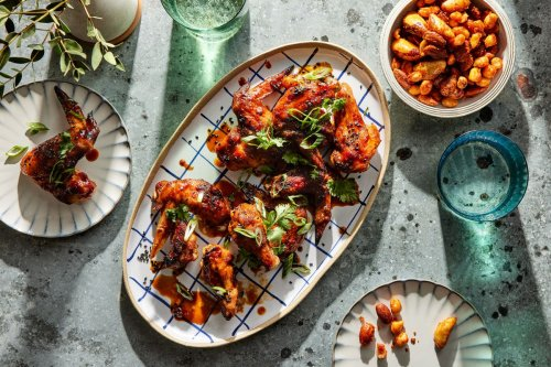 Spicy Tequila-Lime Chicken Wings