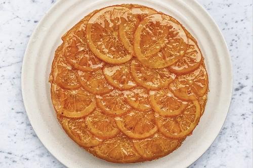 Orange-Cardamom Olive Oil Cake