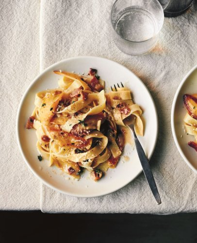 Sam Sifton's Pasta with Parsnips & Bacon