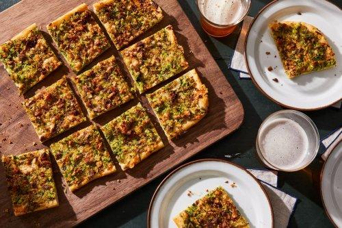 Jim Lahey's 5-Ingredient Summer Squash Pizza