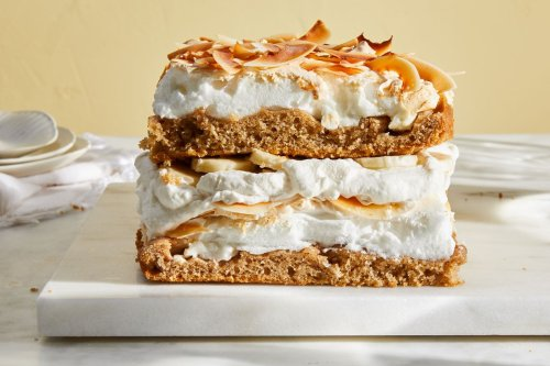 'World's Best Cake' With Banana & Coconut