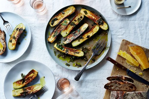 Canal House's Marinated Zucchini