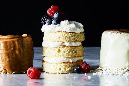Berries-and-Cream Mini Layer Cakes