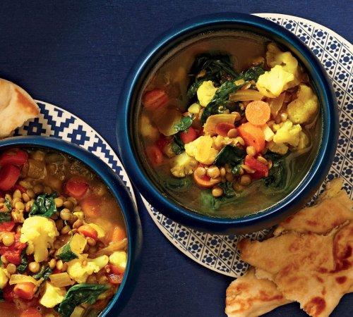 Slow-Cooker Moroccan-Spiced Lentil Soup Recipe on Food52