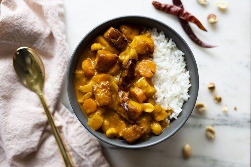 Massaman Halloumi Curry