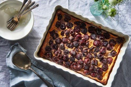 Caramelized Cherry Clafoutis Recipe