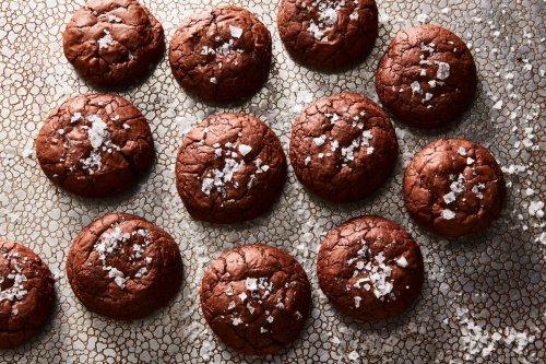 Chewy Sumac Brownie Cookies