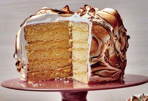 Claire Saffitz's Preserved Lemon Meringue Cake