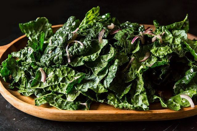 Kale & Anchovy Salad