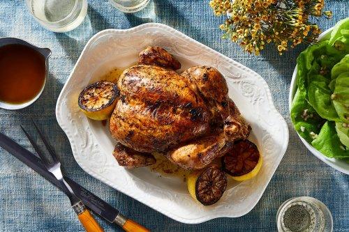 Lemoniest Roast Chicken